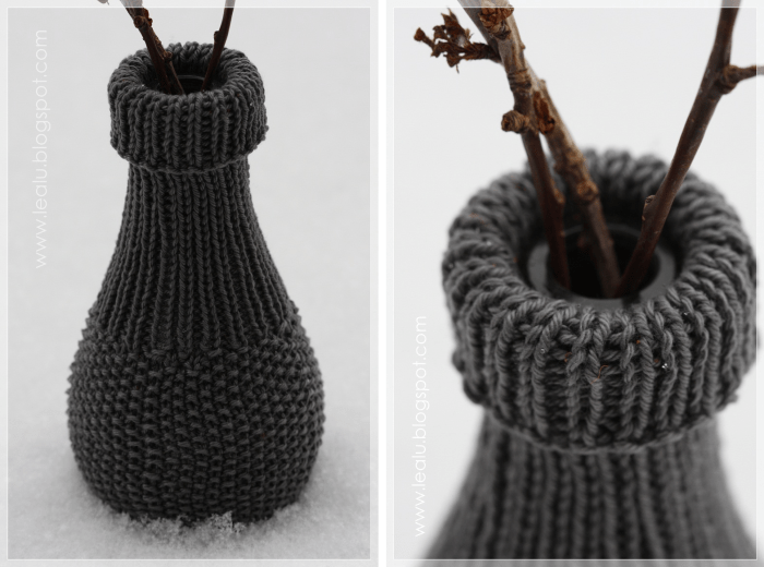Knitted Bottle Wrap