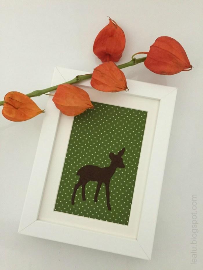 Herbstbild Bambi