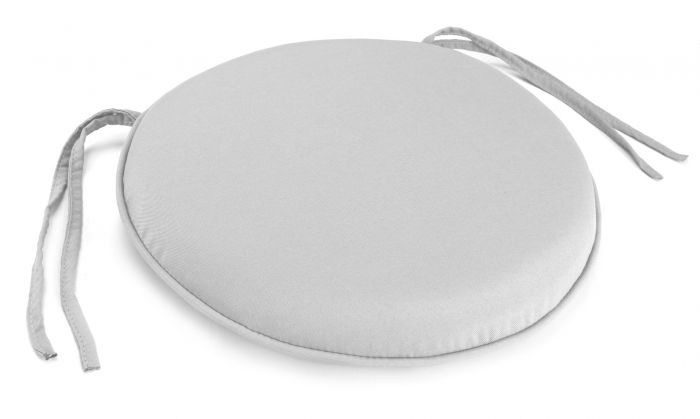 round seat pad with welt