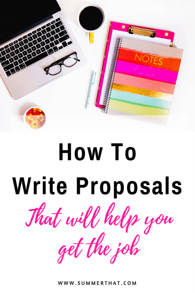 How To Write Proposals That Will Help You Get The Job