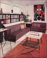 50s interior design | SummerMIXTAPE