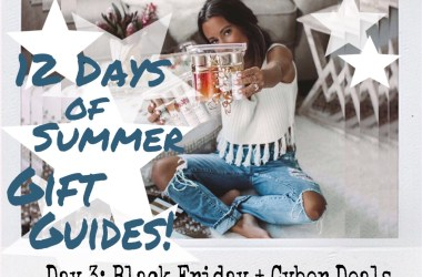 Summer of Diane 12 Days of Summer Holiday Gift Guide 2018