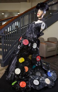 239. Recycled Record Dress