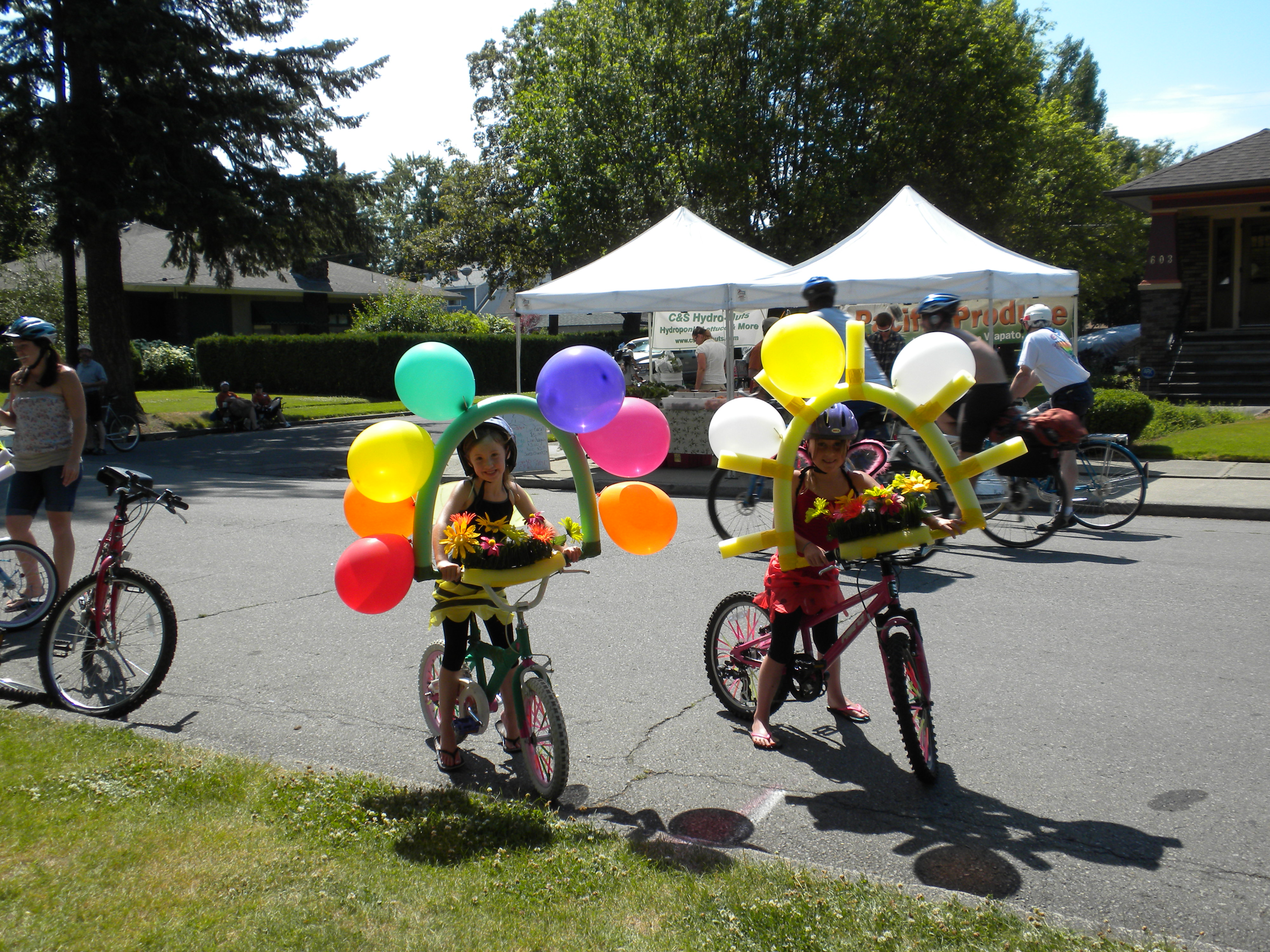 Bike Decorating Rides again on June 22, 2011
