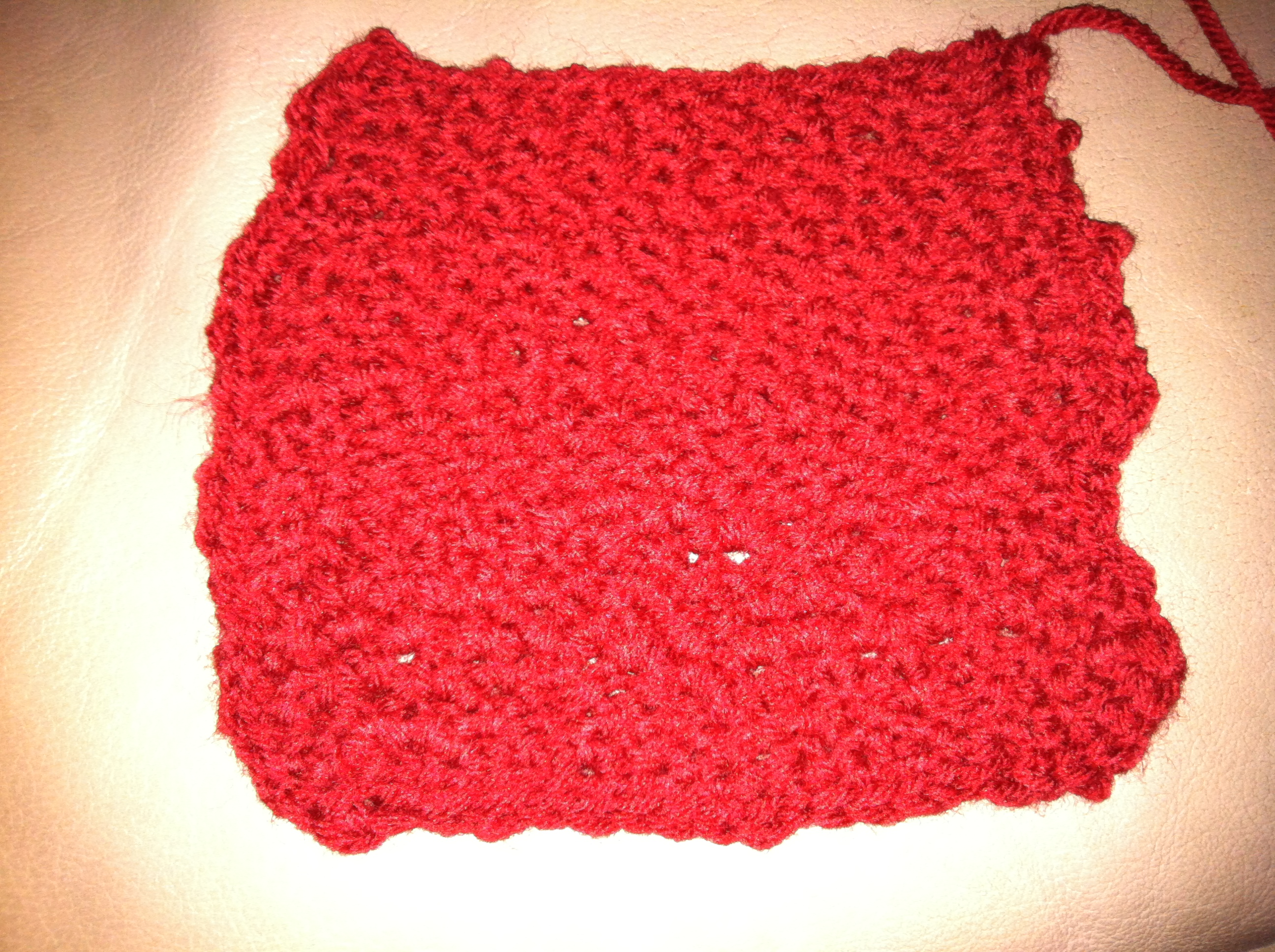 My Quick Beginner Crochet Dishcloth Summers Acres