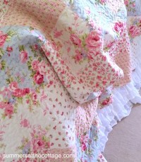 Shabby Chic Quilts Full Queen Bedding Romantic Homes ...