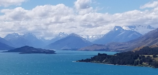 Lake Wakatipu near Glenorcy, New Zealand