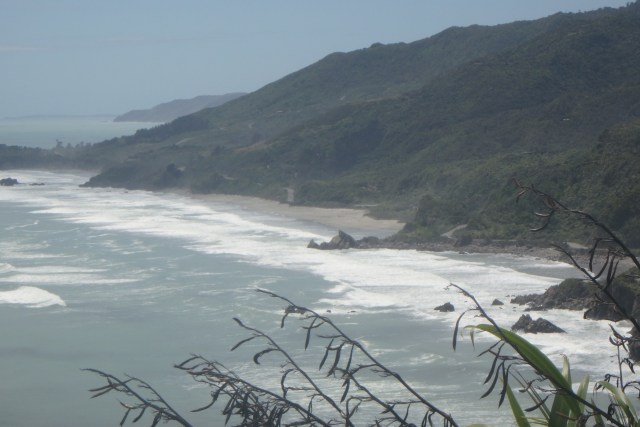Great Coast Road New Zealand, Westport to Greymouth