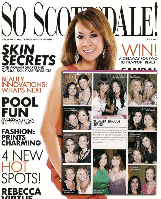 So Scottsdale Magazine July 2012