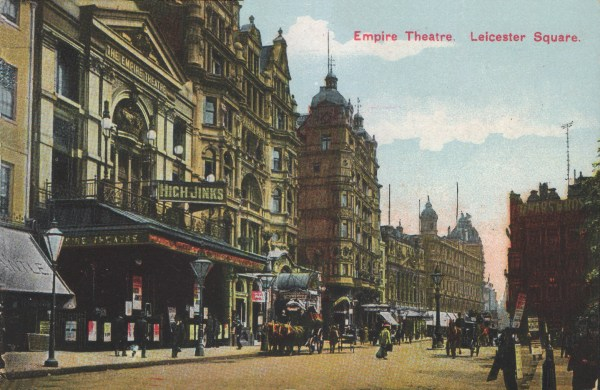 Empire Theatre Leicester Square Gabrielle Ray