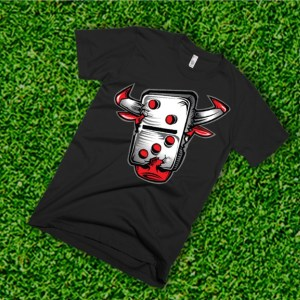 STC Bulls Shirt- Black