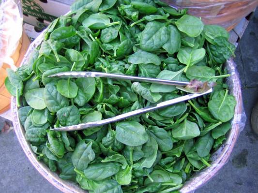 spinach basket
