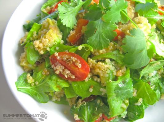 Mexican-style Quinoa Salad