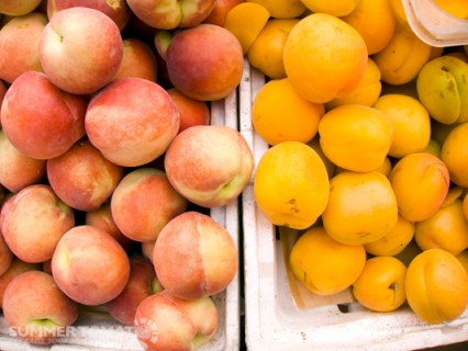 White Peaches & Apricots