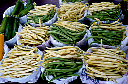 Green and Yellow Wax Beans