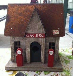 Gas Station Bird House