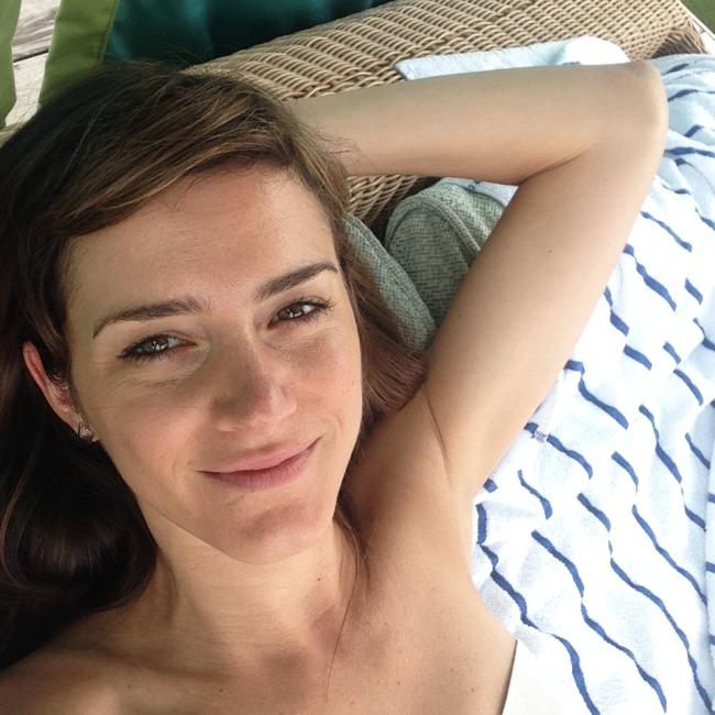 Me in Kauai three weeks ago, no makeup