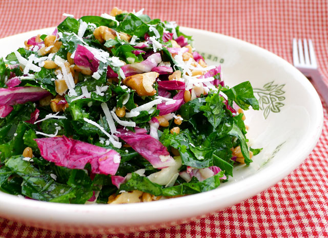 Kale and Farro Superhero Salad