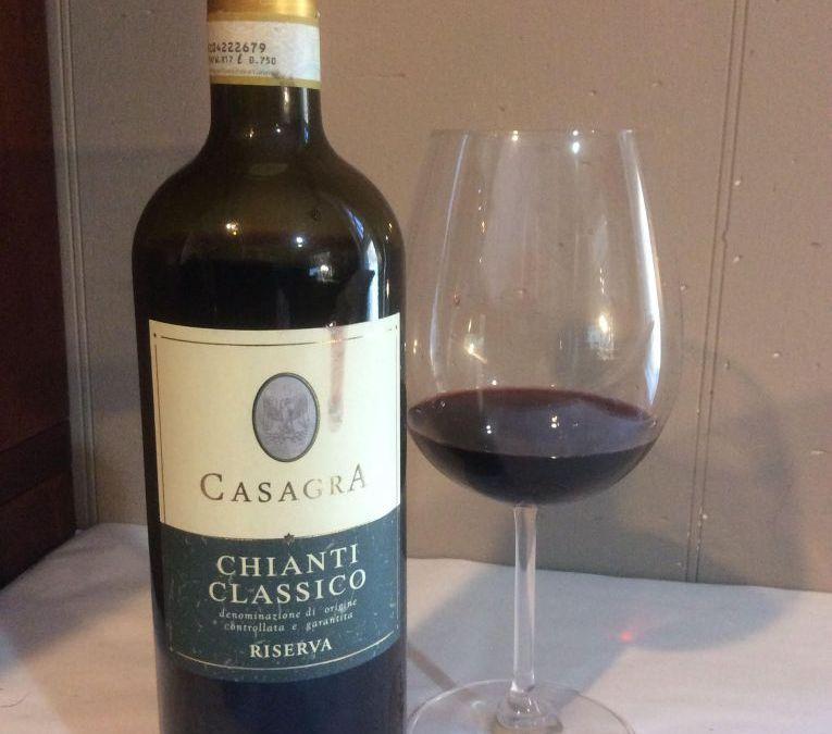 Casagra Chianti Classico Riserva DOCG, Tuscany 2011