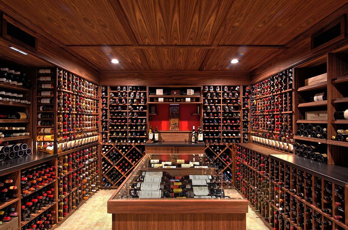 Summit Wine Cellars Wine Cellar Design Custom Wine