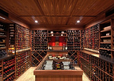 Traditional Wine Cellar – Weston, CT