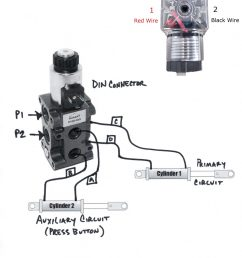 hydraulic solenoid selector dv50 instruction diagram how a diverter valve works diverter selector valve [ 1228 x 1600 Pixel ]