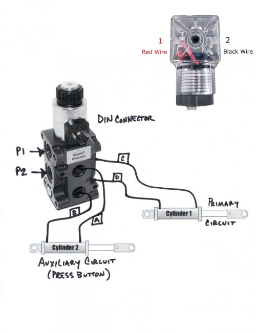 small resolution of hydraulic solenoid selector dv50 instruction diagram how a diverter valve works diverter selector valve