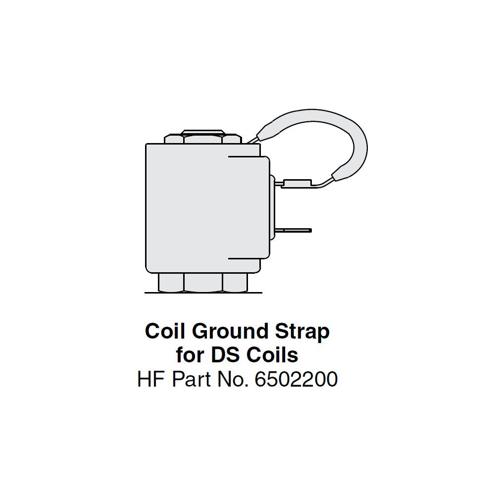Hydraforce 6502200 Coil Ground Strap for Dual Spade Coils