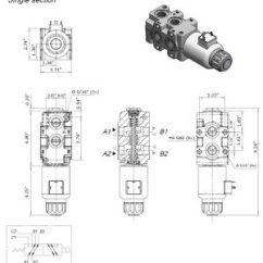 Monoblock Wiring Diagram Marine Fuse Panel Hydraulic Solenoid Selector/diverter Valve, 24 Gpm, 12v Dc