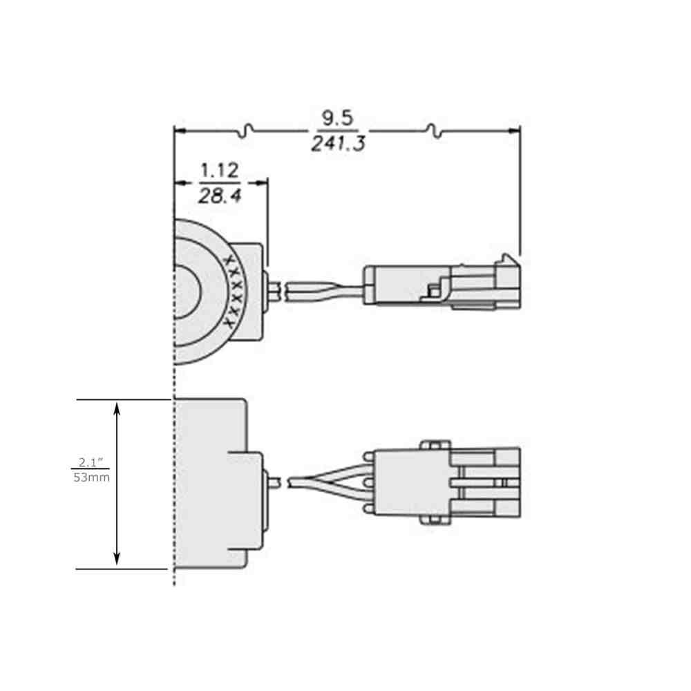 medium resolution of hydraforce 6359739 dana spicer 4215418 solenoid coilvoltage 24 voltsconnection weather packzener diode