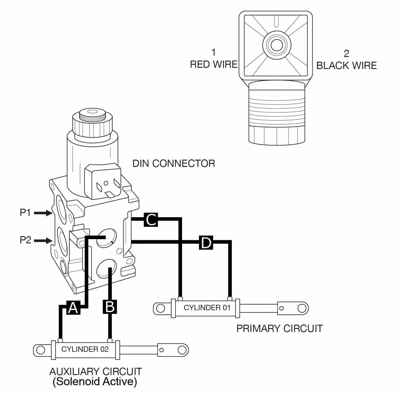 Hydraulic Diverter Selector Valve For John Deere