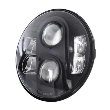 Pro Comp 7 Inch Round LED Headlamps (Clear) - 76402P