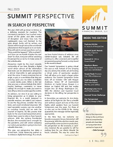 Summit Perspective Fall 2020 Edition