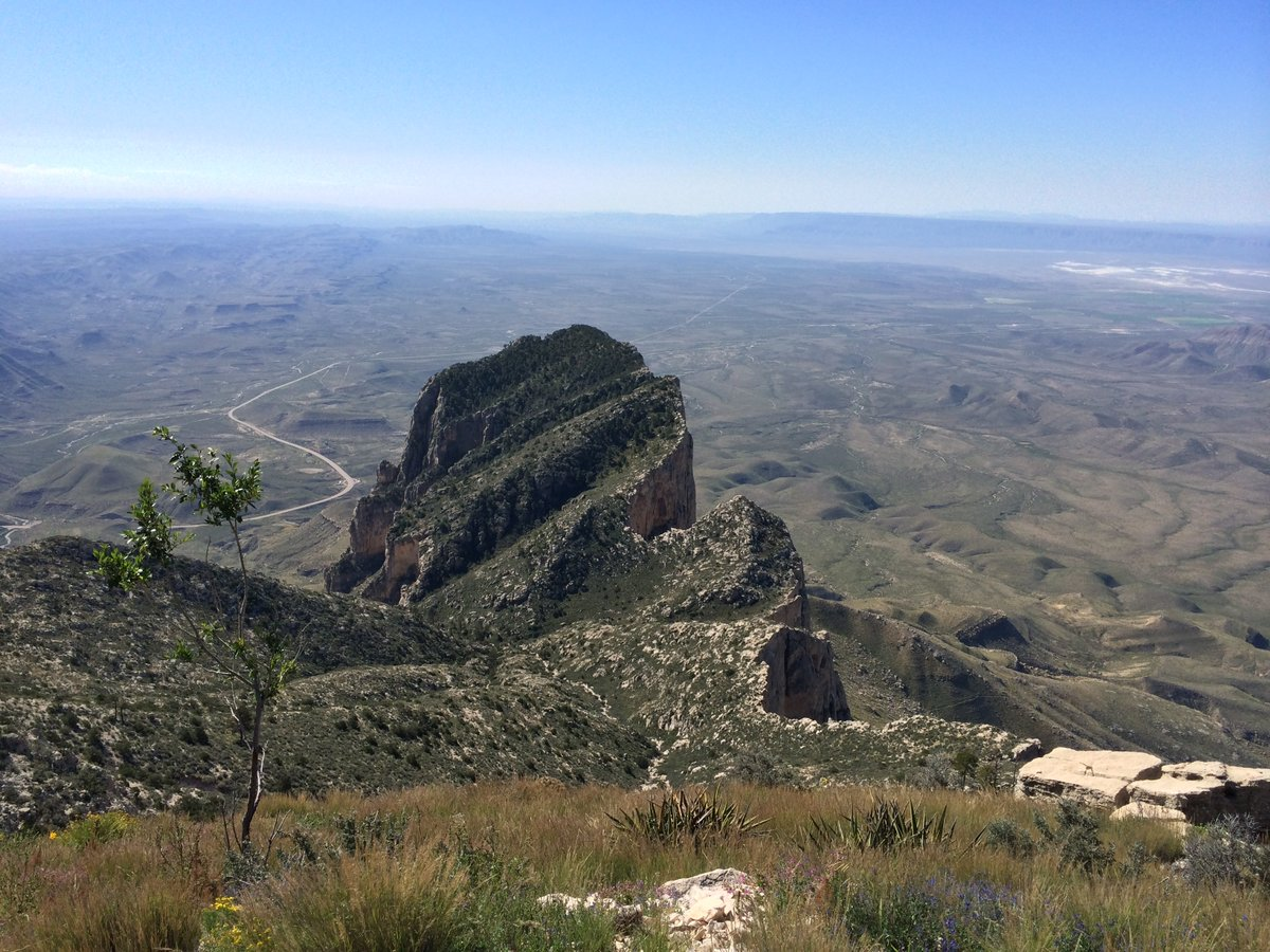Guadalupe Peak  Texas High Point  summitall