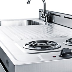 Summit Kitchens Kitchen Pots And Pans All In One Combination Kitchenettes Appliance A Complete Box