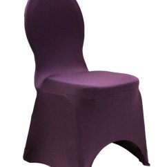 Spandex Chair Cover Rental Atlanta Director Covers Target Polyester Scuba Plum Summit City