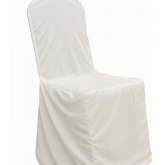 Chair Covers Kansas City For Weddings Amazon Cover Rentals With Free Nationwide Shipping White Scuba Banquet Rental By Summit