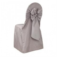Chair Covers Kansas City Ikea Lounge Cover Rentals With Free Nationwide Shipping Silver Rental Polyester