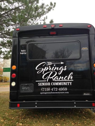 Vehicle fleet wrap design