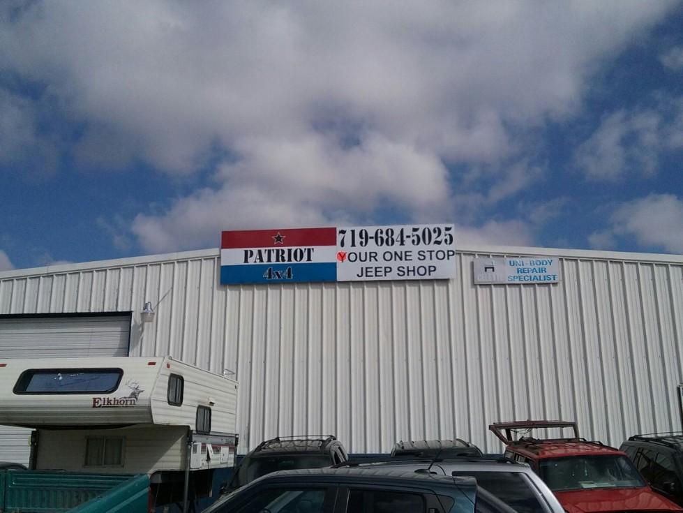 patriot 4x4 exterior sign - patriot-4x4-exterior-sign