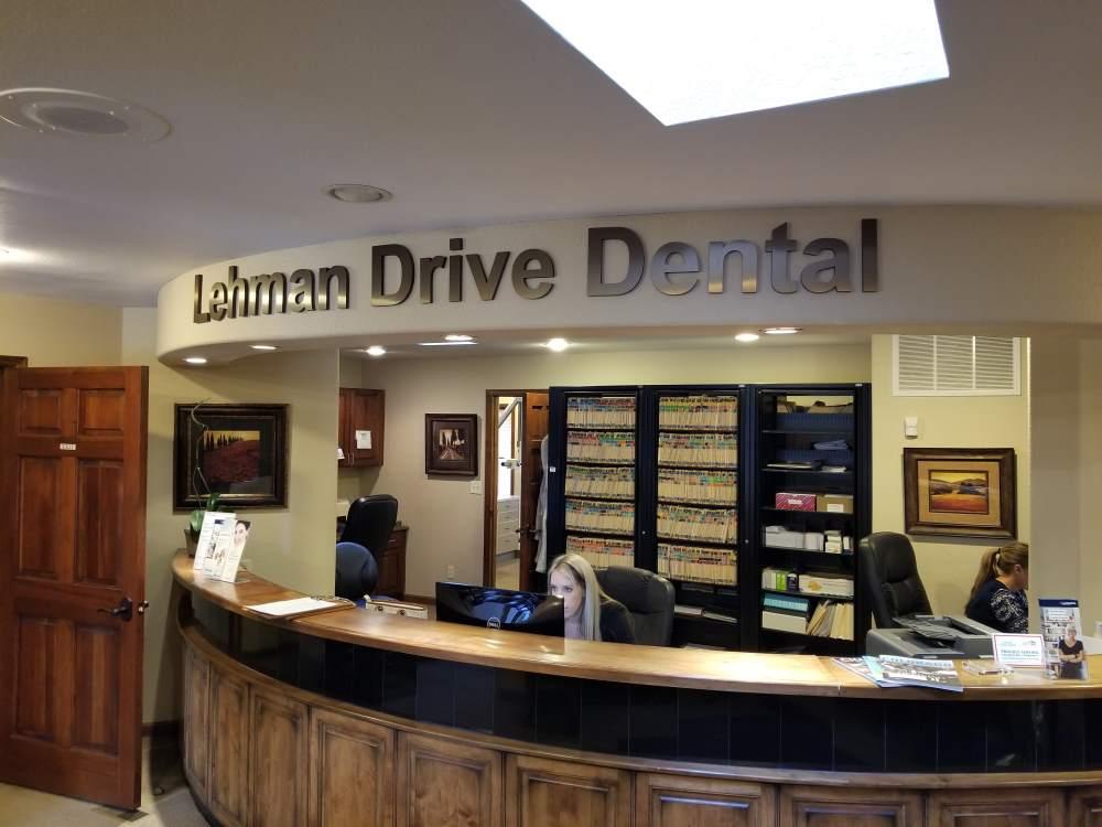 lehman drive dental bronze dimensional letters - lehman-drive-dental-bronze-dimensional-letters