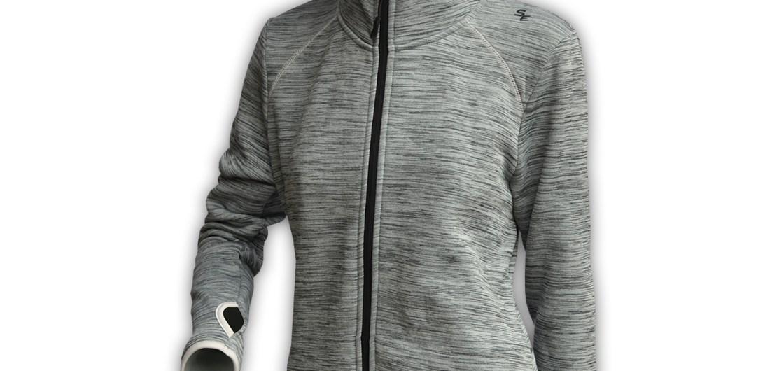 Summit Edge Outerwear gray Jacket, hood, zipper