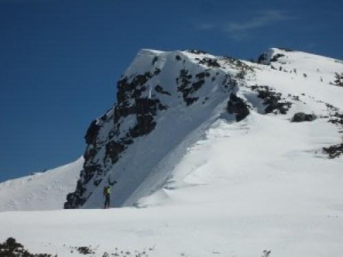 It's winter up by Dick's Peak