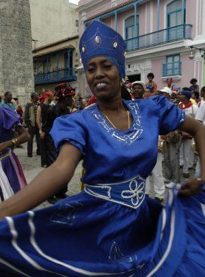 Cuban folk dance