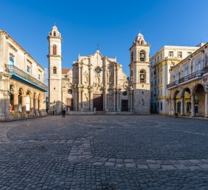 Square of the Catedral Havana