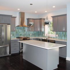 Summit Kitchens Industrial Kitchen Backsplash Pointe Builders