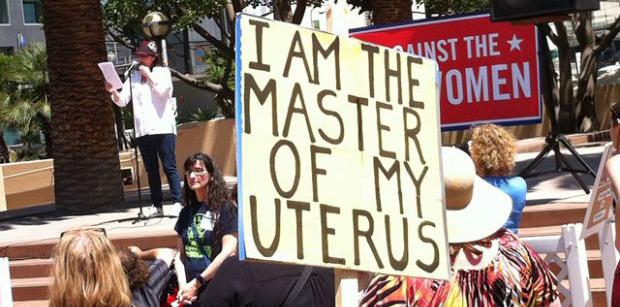 I am master of my uterus