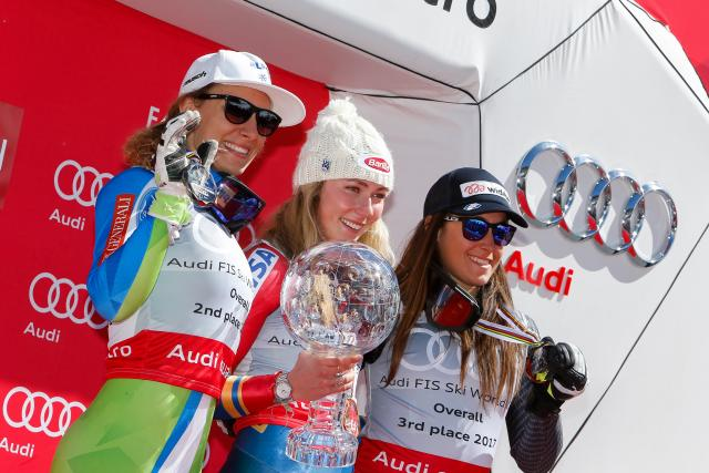 The US Ski Team's Mikaela Shiffrin Wins World Cup Overall Title