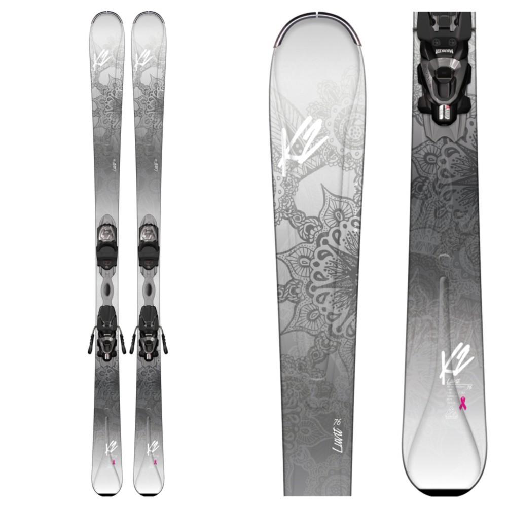 K2 T9 Sweet Luv Skis 142 Marker Erp 100 Bindings Womens
