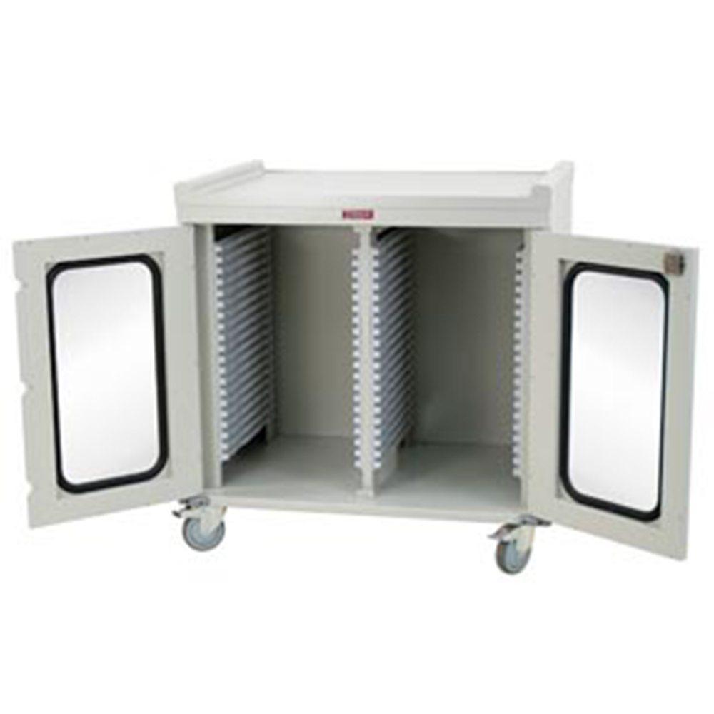 Harloff MS4040DR Double Column Medical Storage Cabinet on